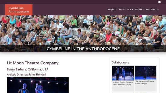 Cymbeline in the Anthropocene Secondary