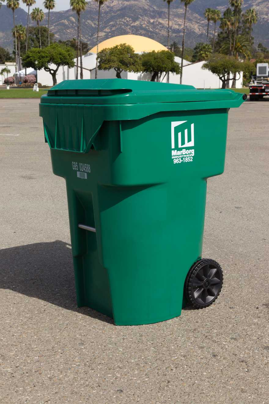 Put in Green Waste Container
