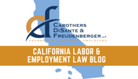 California Labor & Employment Law Blog