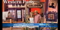 Lisa Amador Featured on News Channel 3 with Her Event: Western HoeDown