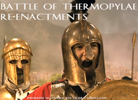 Stock Footage Clips Re-Enactment of Sparta Ancient Greece Greek Leonidas and the 300 Spartans Persian Wars