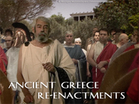 Stock Footage of Re-Enactments of Ancient Greece