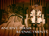 Stock Footage of Re-Enactments of Ancient Persia