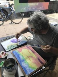 Ryan Sebits at Santa Barbara Art Works