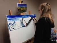Erin Ziegler at Santa Barbara Art Works