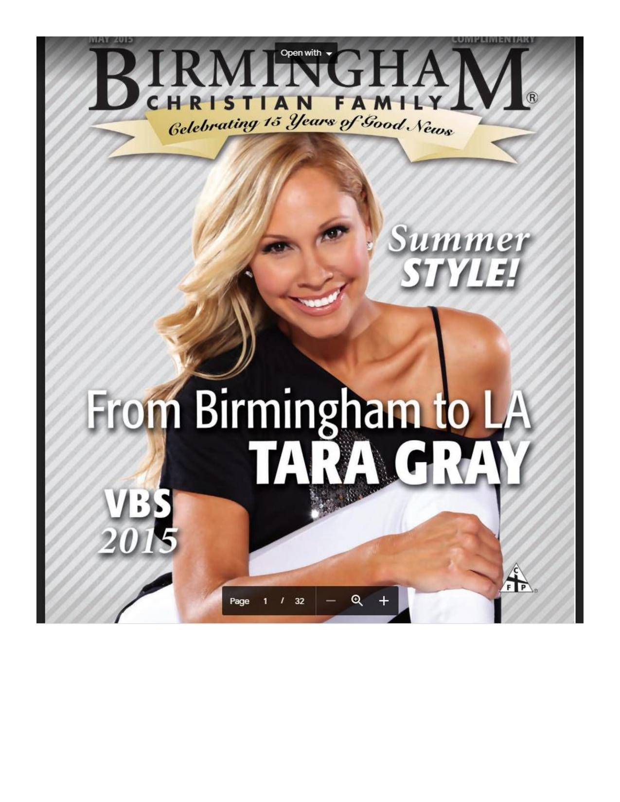 From Birmingham To LA...Tara Gray! Taking Risks And Leaning On Faith-1