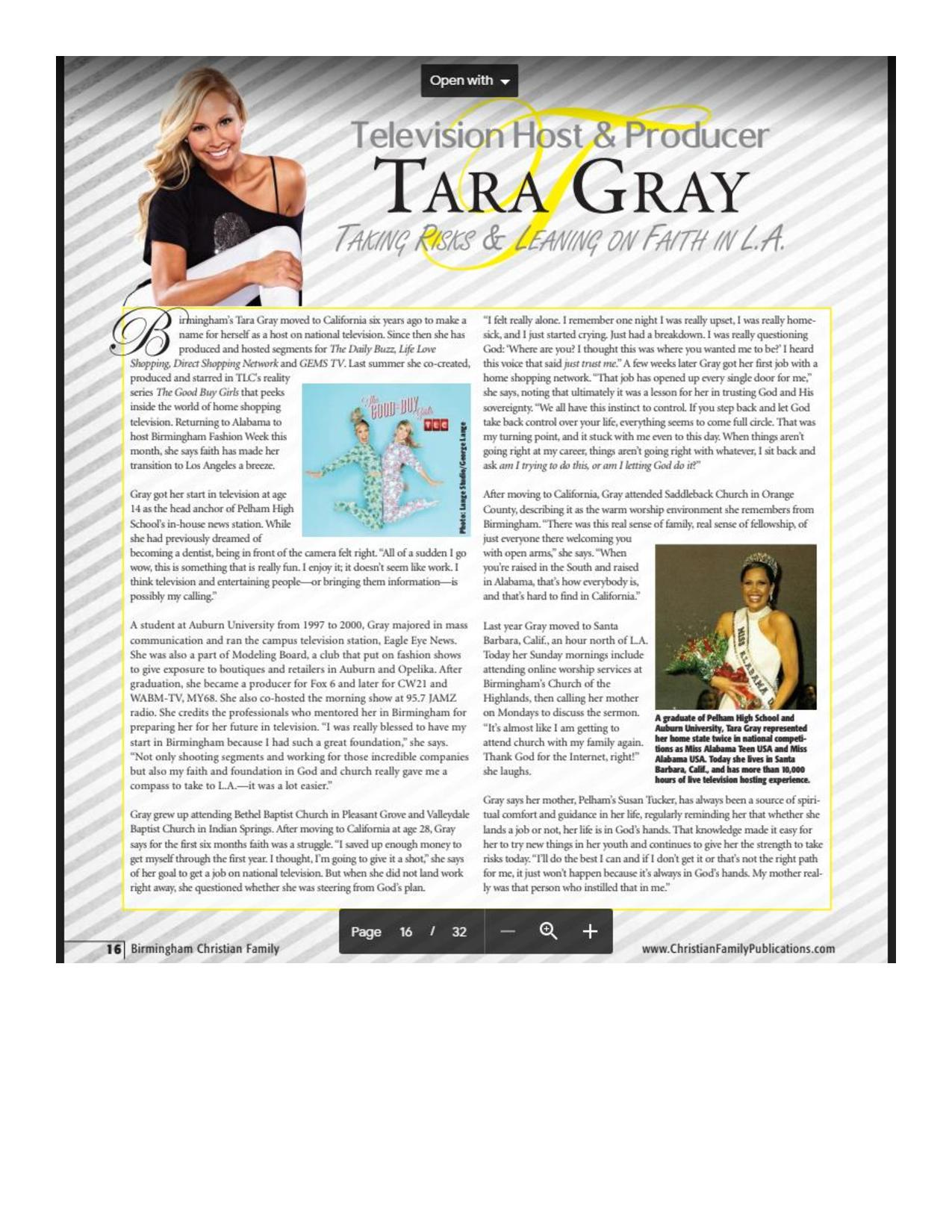 From Birmingham To LA...Tara Gray! Taking Risks And Leaning On Faith-3