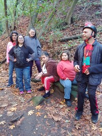Hiking Group with Applied Abilities