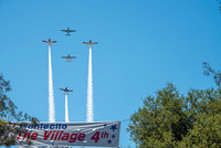 Village Fourth Fly Over 2020