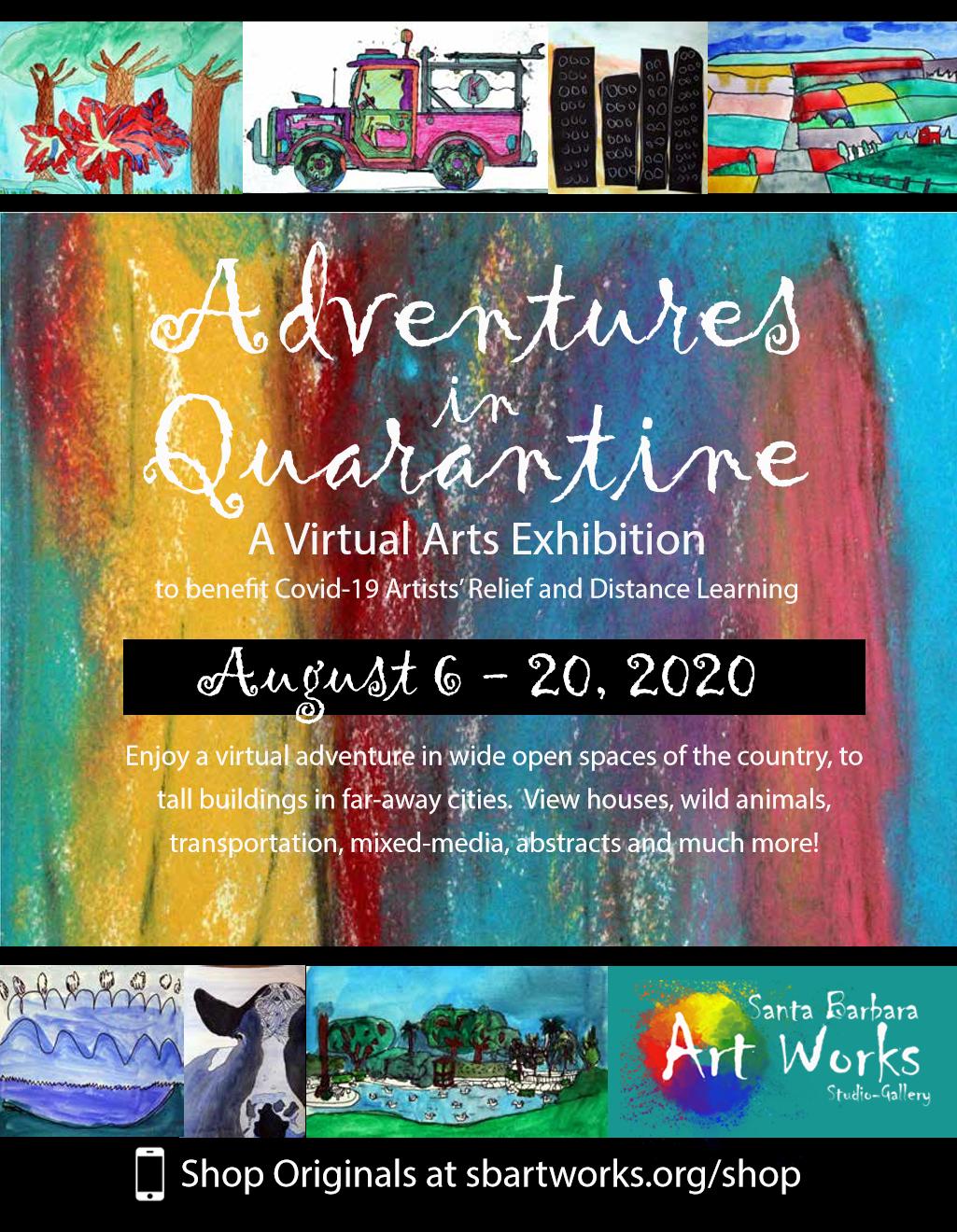 """Virtual Arts Market """"Adventures in Quarantine"""""""