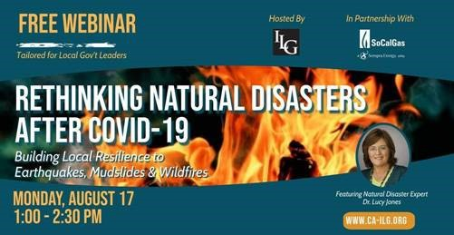 Rethinking Natural Disasters After COVID-19: Building Local Resilience to Earthquakes, Mudslides & Wildfires