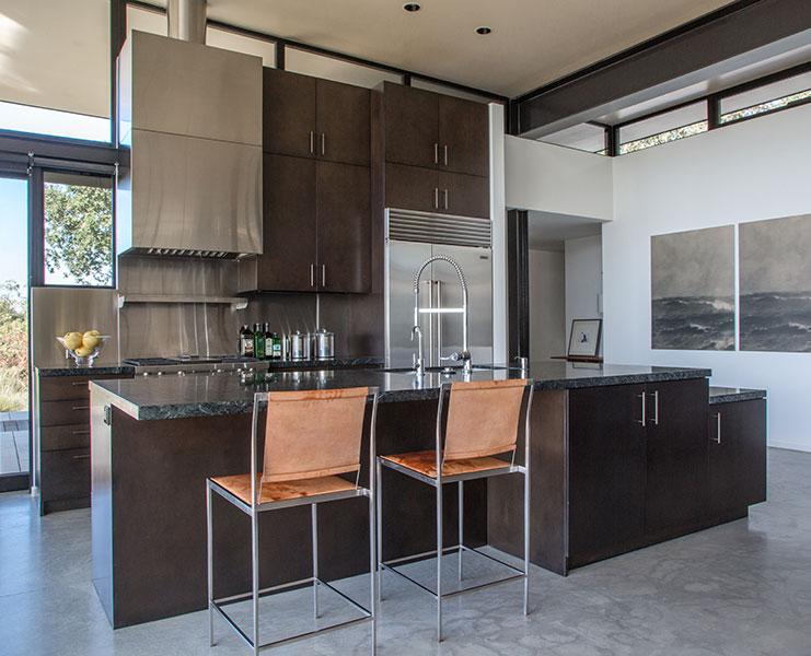 Modern Kitchen Design Santa Barbara