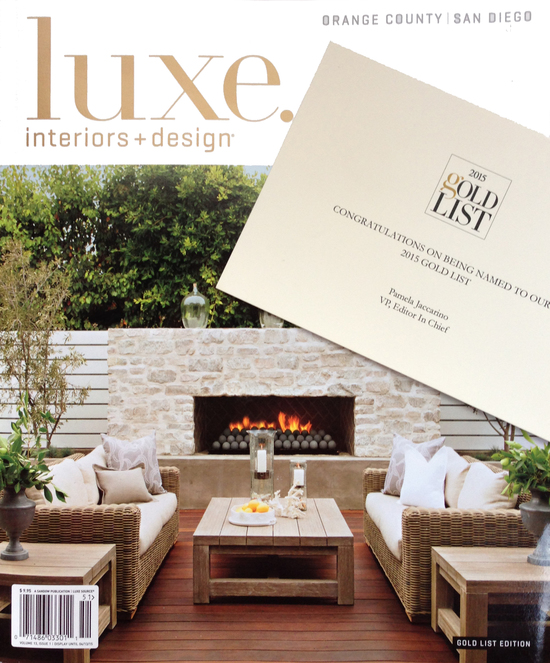 Luxe 2015 Gold List