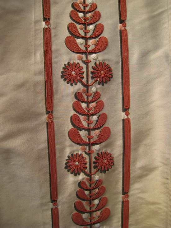 Embroidery from Holland and Sherry