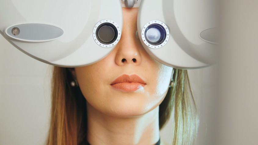 Refraction test Santa Barbara Eyecare