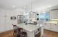 Remodeled Kitchen with views