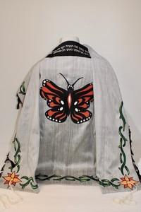 Adam's butterfly tallit