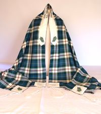 Becca's and Andy's Tartan Wedding tallit