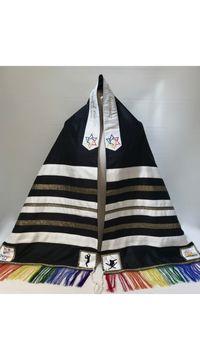 Gibson's Rainbow Tallit