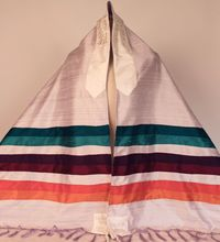 Purple Rainbow Tallit