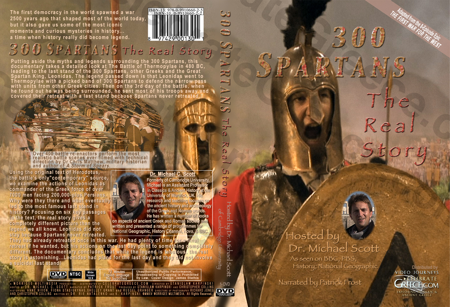 300 Spartans - The Real Story - DVD Cover