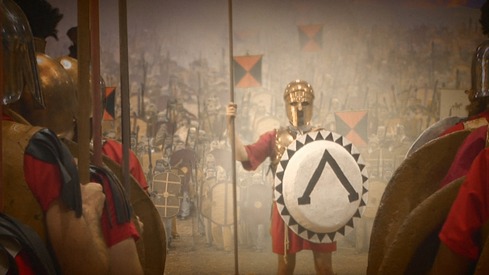 300 Spartans - The Real Story - Freeze frame