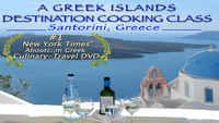A Greek Islands Destination Cooking Class (Santorini, Greece)