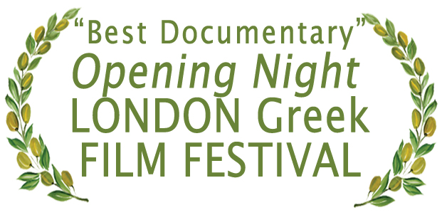 "Crete Under the Grecian Sun was the ""Official Opening Night Selection"" & ""Best Documentary"" at the London Greek Film Festival"