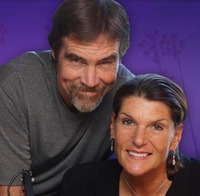 Hosts, KLITE 101.7's  Gary & Catherine