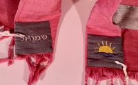 Pink Twin Tallit