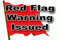 Red Flag Warning 9-30-2020