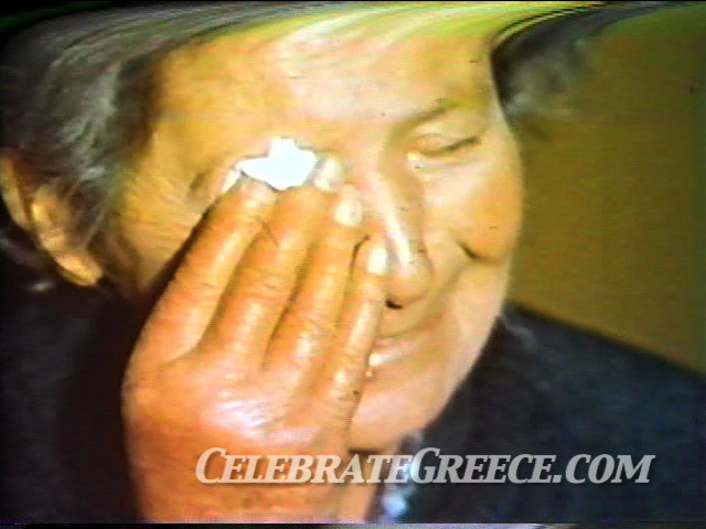Cyprus: South Side Still Image of crying Cypriot woman