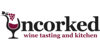 Uncorked Wine Tasting & Kitchen Logo