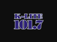 Gary and Catherine from KLITE 101.7 Logo