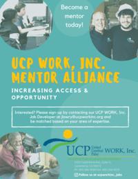New UCP WORK, Inc. Mentor Alliance: A Community-Based Initiative
