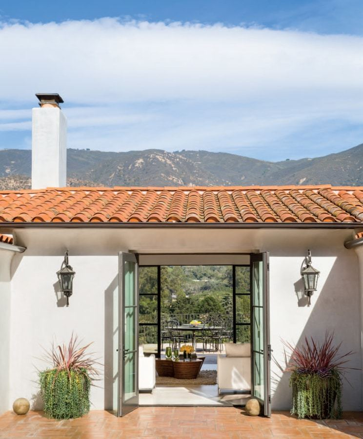 Santa Barbara Interiors Modern Villa