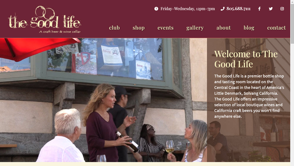 The Good Life Homepage