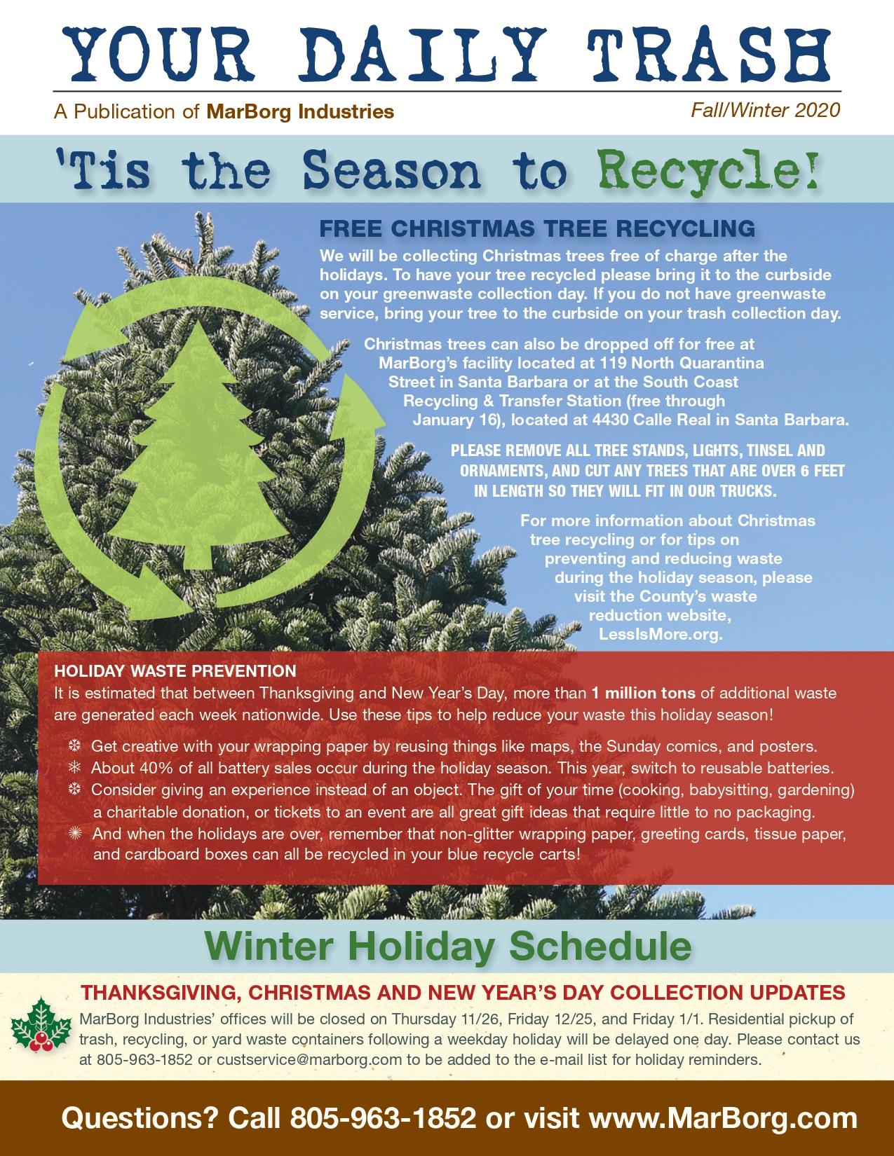 2020 Winter Newsletter - Santa Barbara County