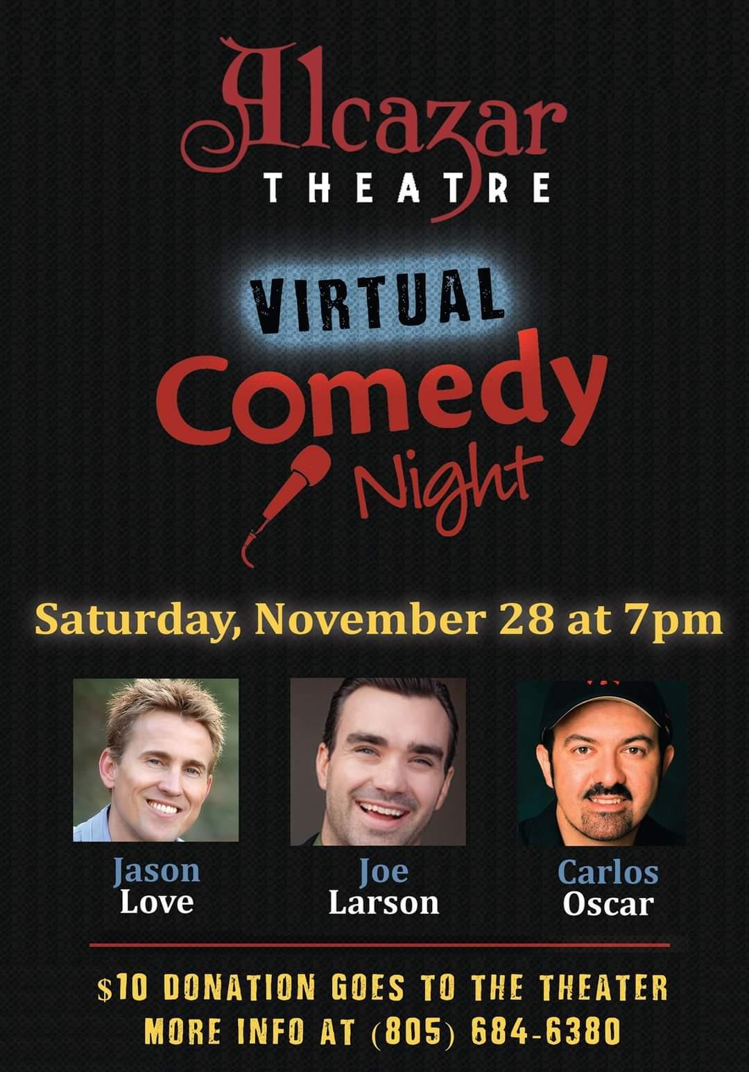 Virtual Comedy Night