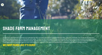 Website Homepage Montage Video - Shade Farm Management