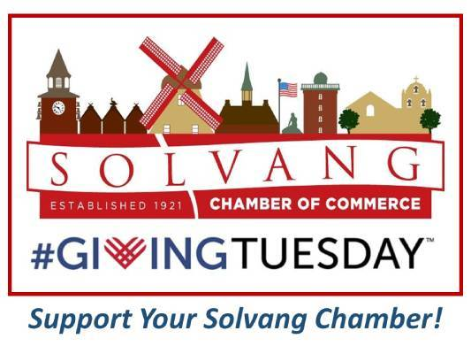 Giving Tuesday Solvang Chamber of Commerce