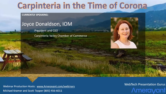 Carpinteria in the time of Corona - State of the City Virtual Event