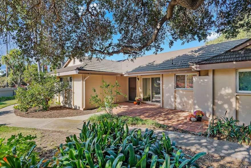 Santa Barbara Home for Sale Front Entrance