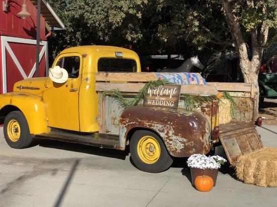 1951 F2 Ford - Wedding Prop Pickup Truck Rentals Santa Barbara