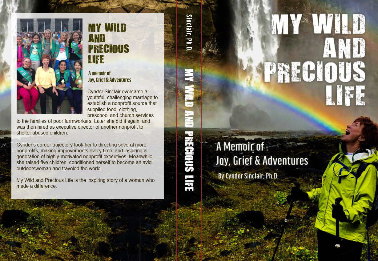 My Wild and Precious Life Book Cover - Cynder Sinclair
