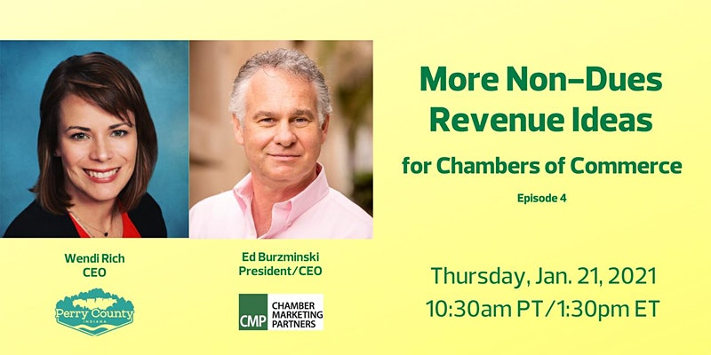 Non-Dues Revenue Ideas for Chambers of Commerce Webinar