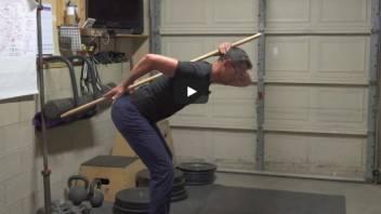 23. Hip Hinge. STOP! Low Back Pain