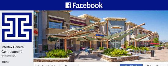 Facebook Social Media Profile Page