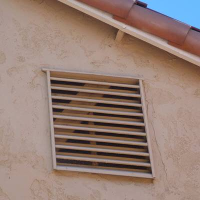 Upgraded gable vent