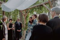 Becca's and Andy's Tartan Wedding tallit